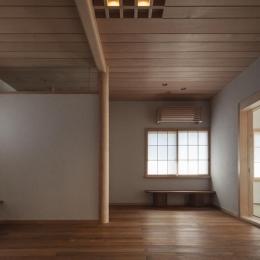 土間空間のある家−築80年の民家再生− (2階板間)
