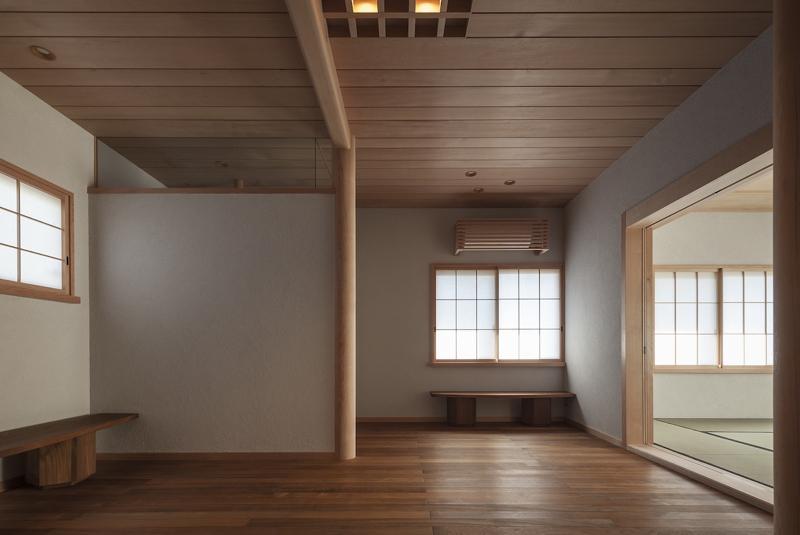 土間空間のある家−築80年の民家再生−の部屋 2階板間