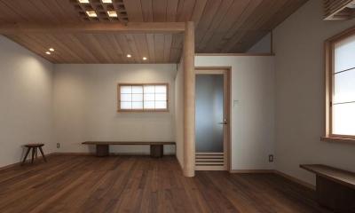 次世代に引き継ぐ家 −世田谷の民家再生− (2階板間)