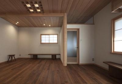 2階板間 (土間空間のある家−築80年の民家再生−)