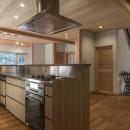 次世代に引き継ぐ家 −世田谷の民家再生−の写真 オーダーキッチン