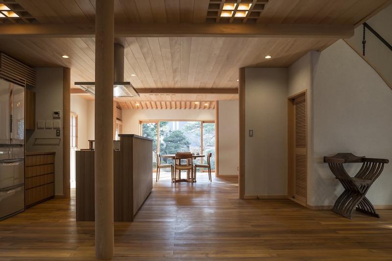 土間空間のある家−築80年の民家再生−の部屋 キッチンダイニング