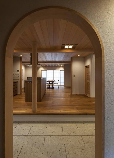 土間空間のある家−築80年の民家再生−の部屋 ダイニング