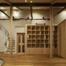 次世代に引き継ぐ家 −世田谷の民家再生−の写真 北の図書コーナー
