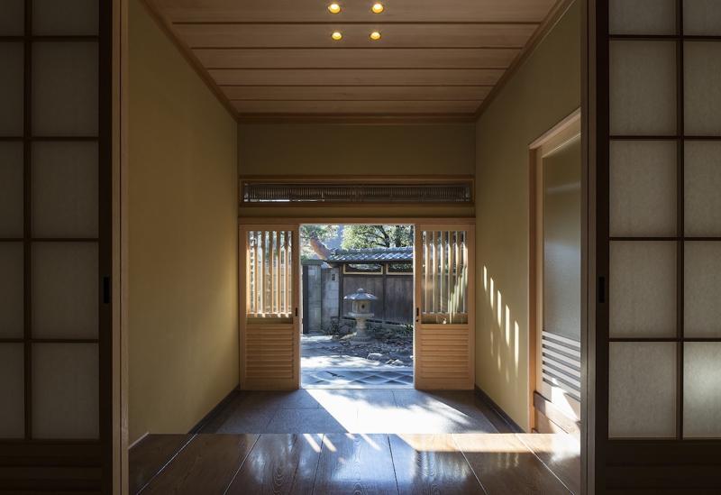 土間空間のある家−築80年の民家再生−の部屋 玄関