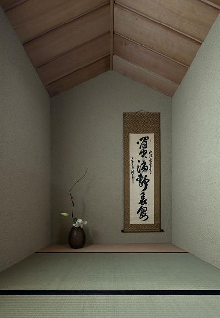 ある舞踏家の家の部屋 床の間のある和室