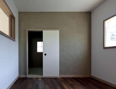 ある舞踏家の家 (和室を見る)