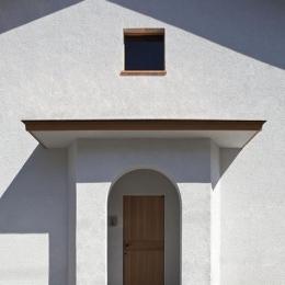 ある舞踏家の家 (玄関ポーチ)