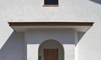 舞踏家の家 (玄関ポーチ)