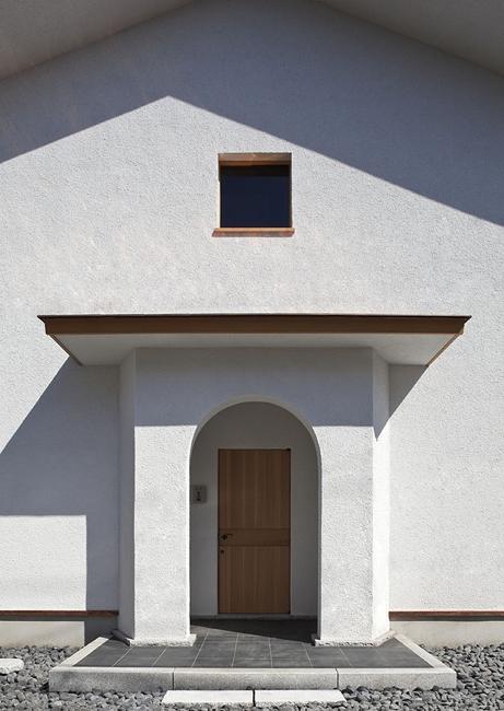 ある舞踏家の家の部屋 玄関ポーチ