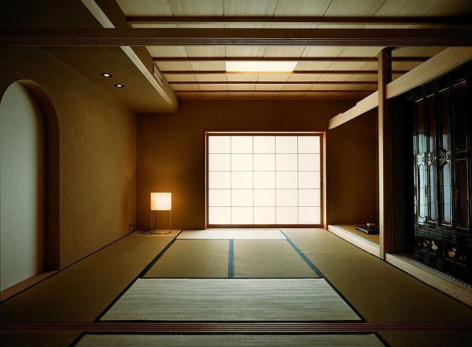 迷企羅ー水戸郊外の家の写真 二間続きの和室