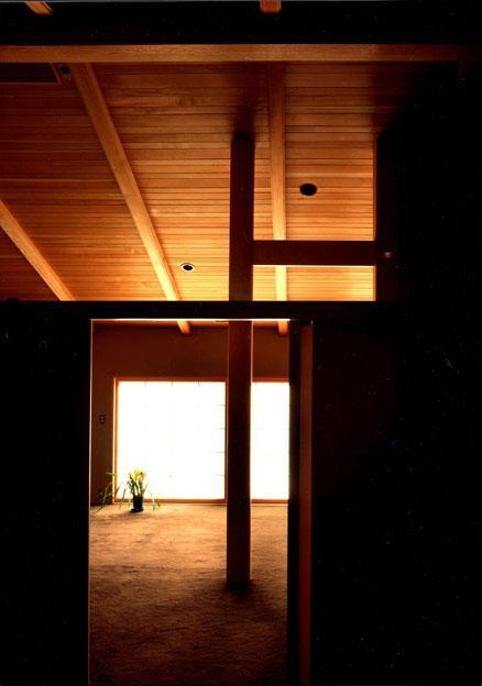 迷企羅ー水戸郊外の家の写真 サロンへ