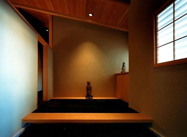 迷企羅ー水戸郊外の家 (玄関)