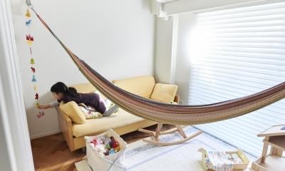 ブリュッセルのアパートメントのように、家族が心地よく過ごせる空間に暮らしたい (子供部屋)