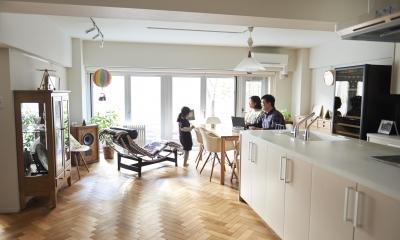 ブリュッセルのアパートメントのように、家族が心地よく過ごせる空間に暮らしたい