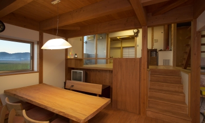 津屋崎の家 (ダイニング)