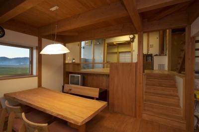ダイニング (津屋崎の家)