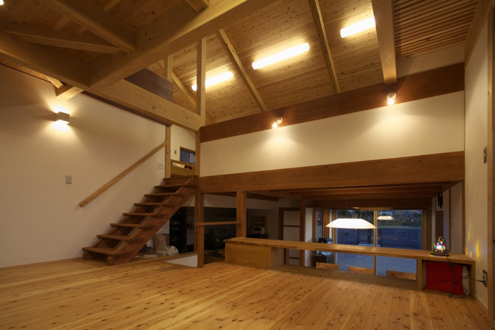 津屋崎の家 (リビング)