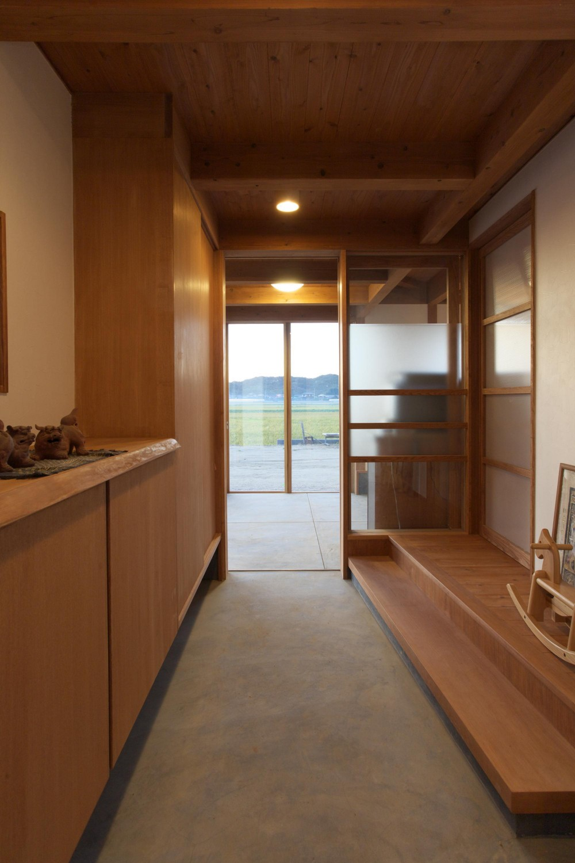 津屋崎の家 (玄関)