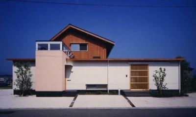 長屋門の家