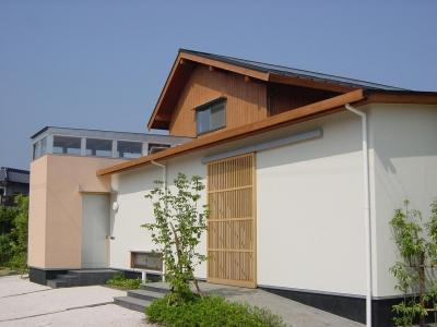 長屋門の家 (外観)