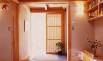 長屋門の家 (玄関)