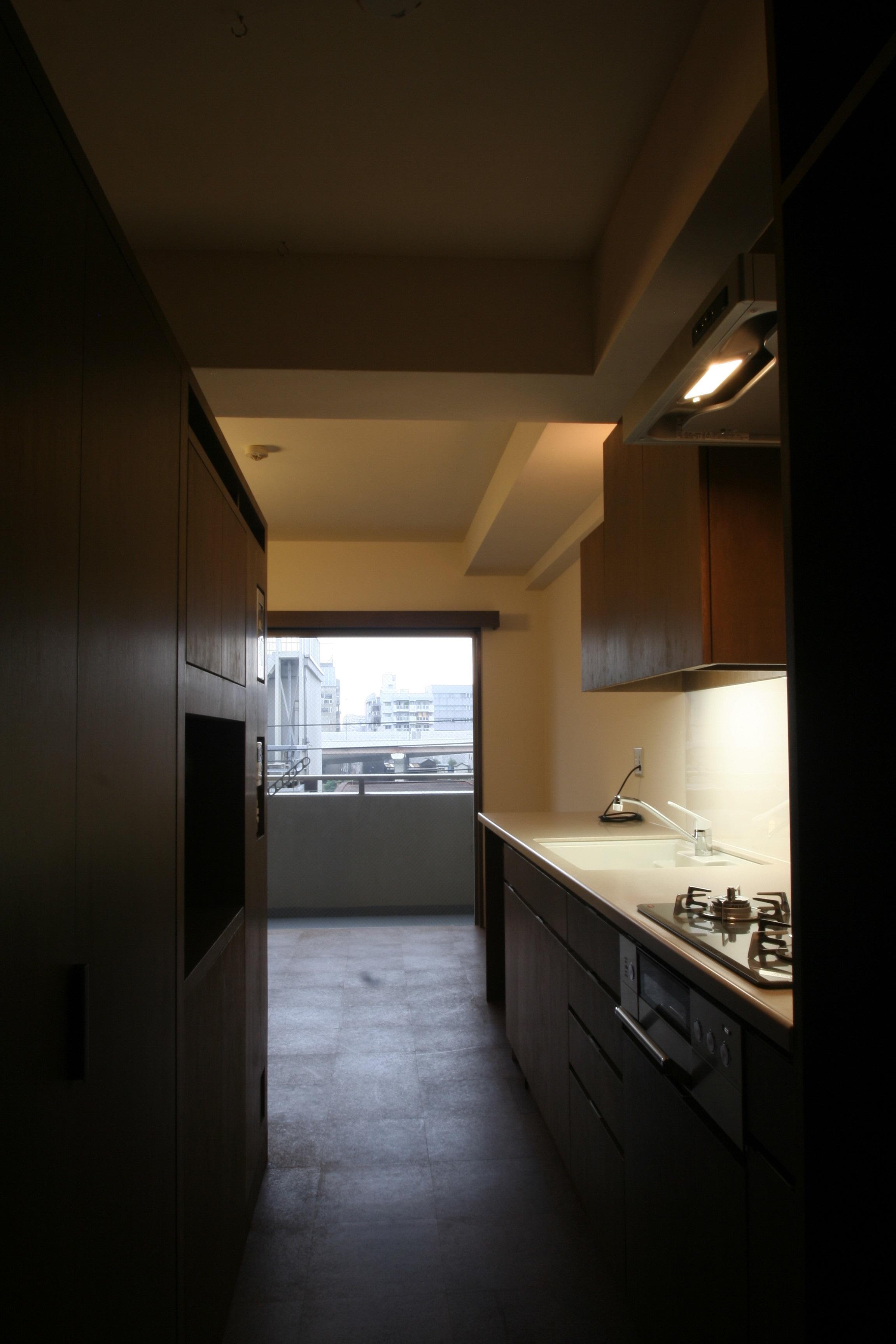 駒形-Mリフォームの部屋 収納たっぷりのキッチン