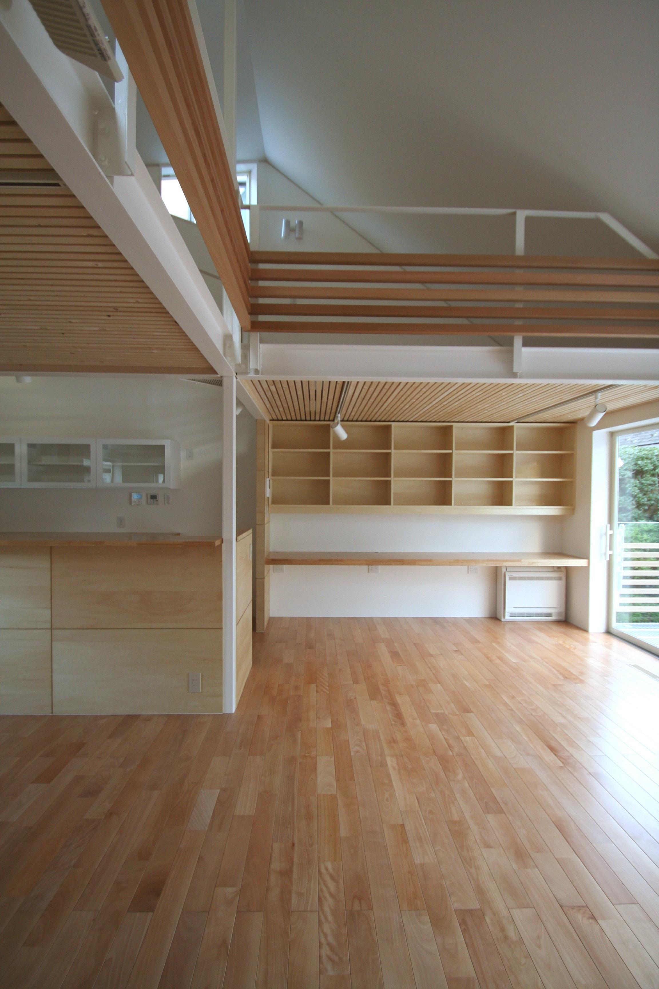 柿の木坂-Tの部屋 高低差のあるメリハリの効いた空間