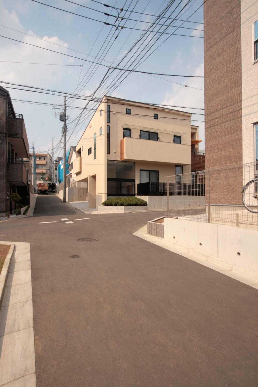 外観 (田端の家(お茶室と防音室のある2世帯住宅))