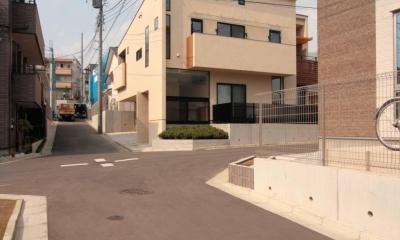 田端の家(お茶室と防音室のある2世帯住宅)