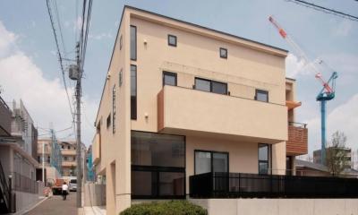 田端の家(お茶室と防音室のある2世帯住宅) (外観)