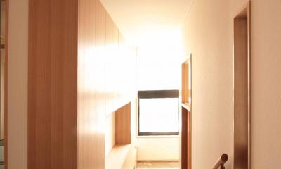 田端の家(お茶室と防音室のある2世帯住宅) (玄関)