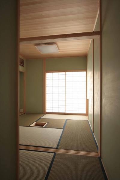お茶室 (田端の家(お茶室と防音室のある2世帯住宅))