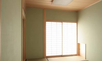 お茶室(兼客間)|田端の家(お茶室と防音室のある2世帯住宅)