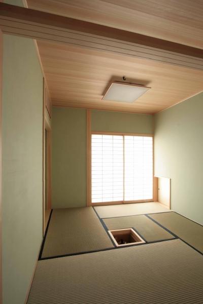 お茶室(兼客間) (田端の家(お茶室と防音室のある2世帯住宅))