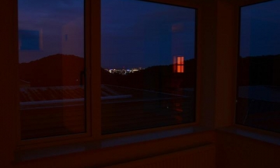 夜景の見える家