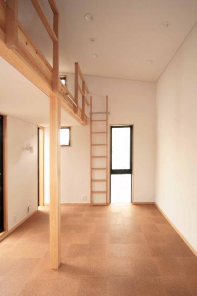 2階、子世帯の子供室 (田端の家(お茶室と防音室のある2世帯住宅))