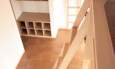 田端の家(お茶室と防音室のある2世帯住宅) (2階、子世帯の子供室(ロフト))