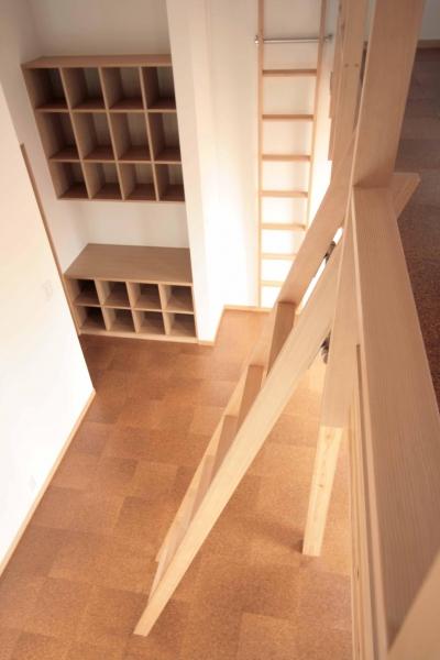 2階、子世帯の子供室(ロフト) (田端の家(お茶室と防音室のある2世帯住宅))