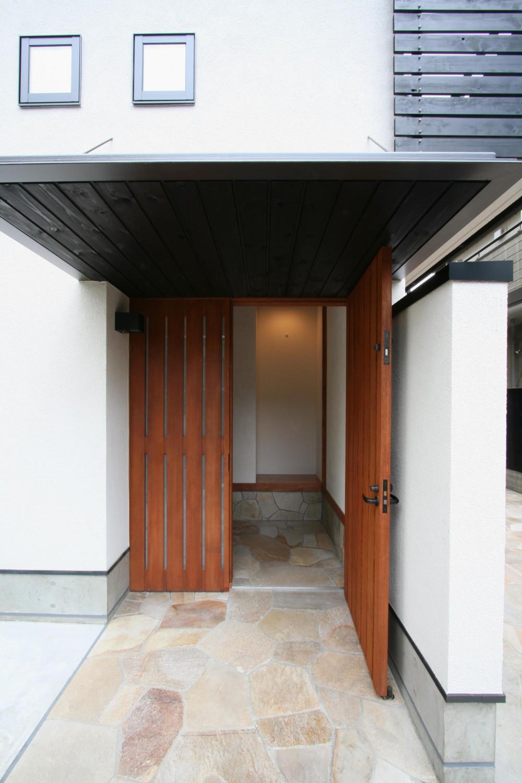 吉祥寺の家(和テイストの家) (玄関ポーチ)