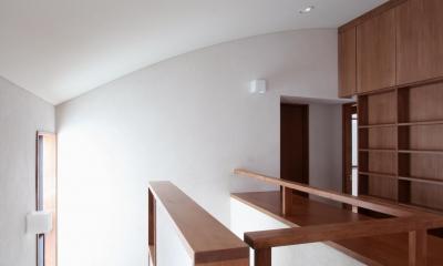 吉祥寺の家(和テイストの家) (階段)