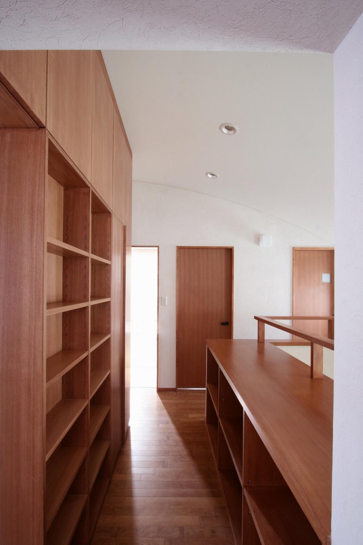 吉祥寺の家(和テイストの家) (階段室)