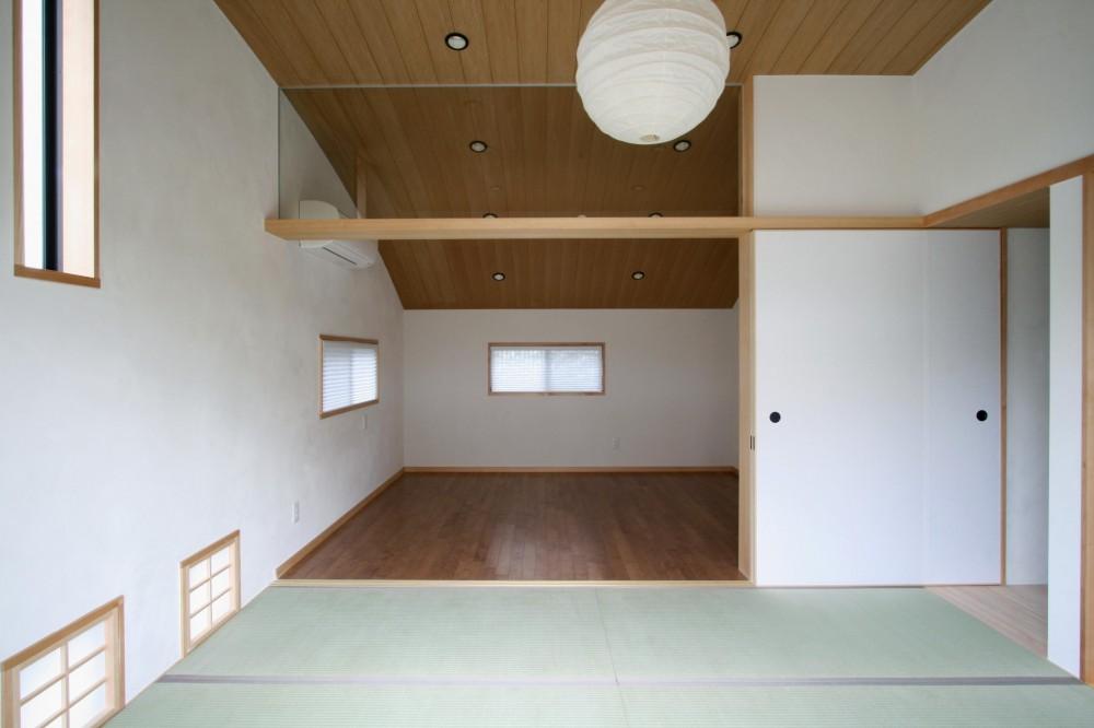 吉祥寺の家(和テイストの家) (主寝室)