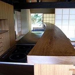 小木津の民家再生 (オリジナルキッチン)