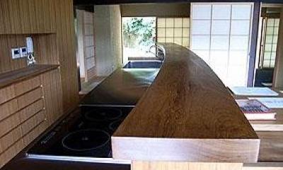 茨城の民家再生 (オリジナルキッチン)