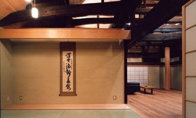 茨城の民家再生 (和室)