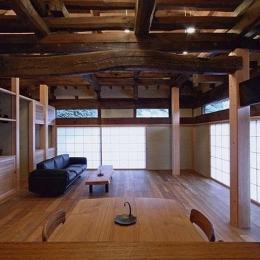 茨城の民家再生-リビング