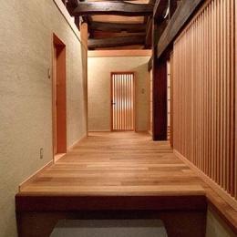 小木津の民家再生 (玄関)