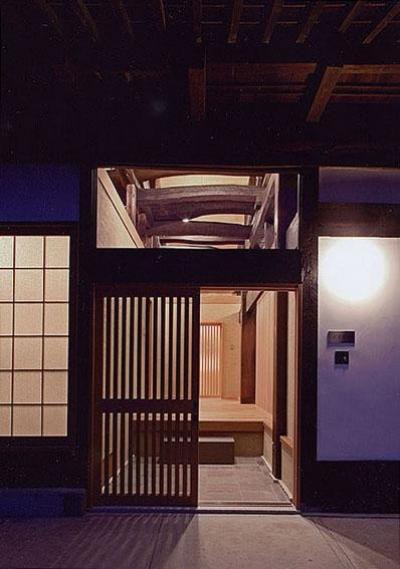 玄関 (茨城の民家再生)