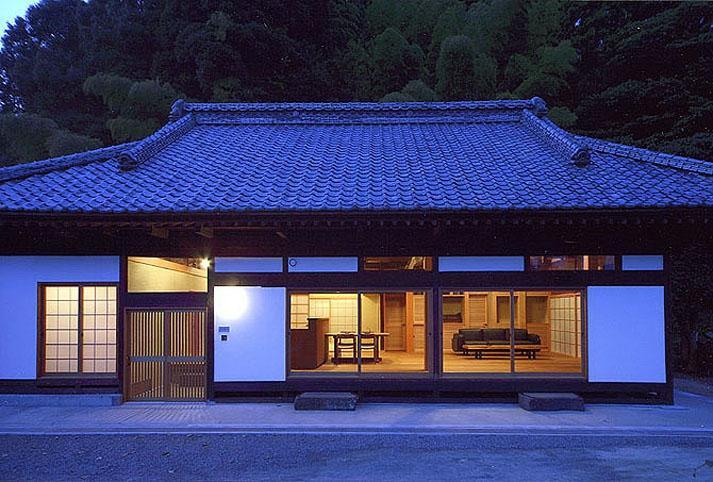 小木津の民家再生の部屋 南夜景